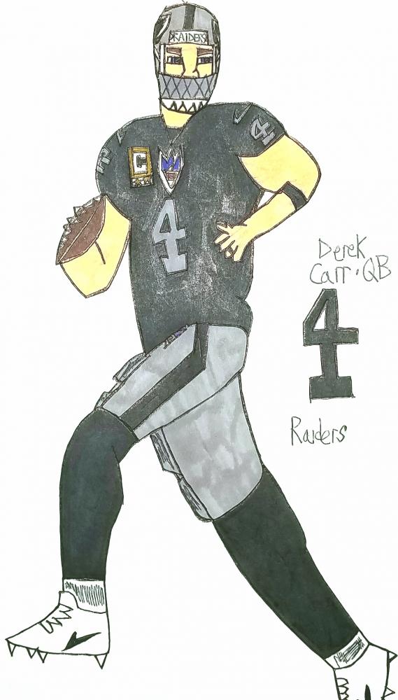 Derek Carr par armattock